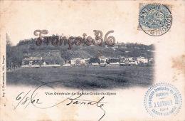 (33) Vue Générale De Sainte Ste Croix Du Mont - En état : Tâches - 2 SCANS - Autres Communes