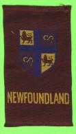 CARTES CIGARETTES - CIGARETTE SILK CARD, PROVINCE OF NEWFOUNDLAND FLAG TOBACCO EPHEMERA - - Cigarette Cards