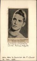 FOOTBALL - Photo Tirée D´un Journal De 1954 Et Collée Sur Carton - Gardien De But - STOJANOVIC - Autres Collections