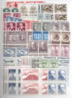 FRANCE  1943 TO 1976 COLLECTION ON BLOCKS CV 3200€+