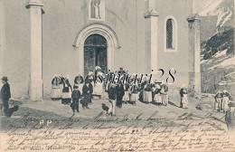 ST-COLOMBAN-DES-VILLARDS - N° 771 - SORTIE DE L´EGLISE - Otros Municipios