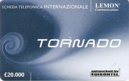 *ITALIA - EDISONTEL* - Scheda Usata - Italy