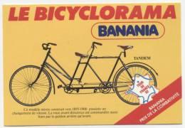 "TOUR DE FRANCE 1982 "" BANANIA / LE BICYCLORAMA ""  CPM 10X15  NEUVE - Cyclisme"