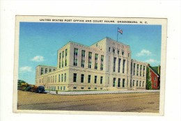 Cpsm United States Post Office And Court House GREENSBORO - Greensboro