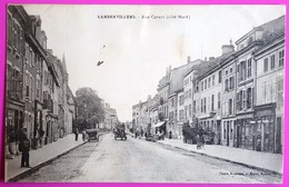 Cpa Rambervillers Rue Carnot Côté Nord Carte Postale Vosges 88 - Rambervillers
