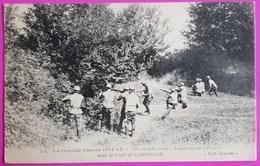 Cpa N° 22 Une Chaude Alerte Estafette De Cavalerie Dans La Forêt De Compiègne Carte Postale Militaire Guerre 1914 - Weltkrieg 1914-18
