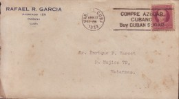 1917-H-147 CUBA. REPUBLICA. 1917. PATRIOTAS. 3c. SOBRE MARCA. COMPRE AZUCAR CUBANO. BUY CUBAN SUGAR.  1933 - Cuba
