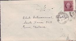 1917-H-153 CUBA. REPUBLICA. 1917. 1c. SOBRE CENTRAL FLORIDA. CAMAGUEY.  AMBULANTE. HABANA Y SANTIAGO. RAILROAD. FERROCAR - Cuba