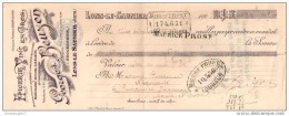 39 67 LONS LE SAUNIER Epicerie GEORGES BEUZON dest Ets LEON BANET MOUREAU GUICHARD MARCHAND &amp  MICHEL 1926 dest S
