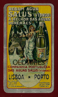 PORTUGAL - VIDAGO - COMPANHIA PORTUGUESA DAS AGUAS SALUS - ALUMINIO - 1930 ALUMINIUM CALENDAR - Calendars