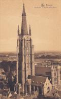 Belgium Bruges Panorama et Eglise Notre-Dame