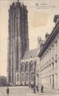 Belgium Malines La Tour De La Cathedrale St Rombaut 1910 - Malines