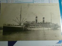 290115B Paquebot Asie - Dampfer