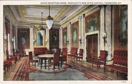 State Reception Room Kentuckys New State Capitol Frankfort Kentu