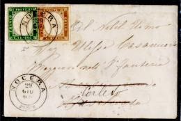 Nocera 00524a (Piccola Busta Con Testo) - 1861-78 Vittorio Emanuele II