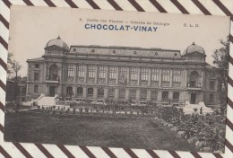 5AH151 CHOCOLAT VINAY  JARDIN DES PLANTES GALERIES DE GEOLOGIE 2  SCANS - Reclame
