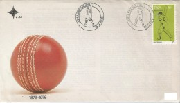 SOUTH AFRICA. POSTMARK BASEBALL. 1976 - FDC