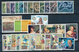 SAN MARINO Mi.Nr.  942-971  Jahrgang 1970 -MNH - Ungebraucht