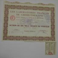 Laboratoires Français De Chimiothérapie - Industrie