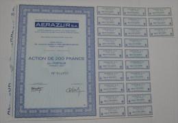 Anciens Ets Claude Et Hatton Aerazur à Issy Les Moulineaux - Aviation