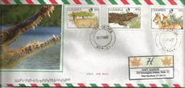 Lettre De Banjul (Gambia) Adressée Aux Etats-Unis (Faune De La Gambie) - Non Classés