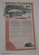 Anglo Argentine Tramways Company - Chemin De Fer & Tramway