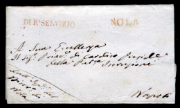 Nola 00527a - Piego Del 1821 (senza Testo). - 1. ...-1850 Prefilatelia