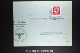 Deutschland: Dienstbrief 1943 Lörrach To Neu-Ulm - Briefe U. Dokumente
