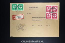 Deutschland: Einschreiben Dienstbrief 1943 Zwiefalten To Ulm - Briefe U. Dokumente