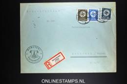 Deutschland: Einschreiben Dienstbrief  14.Marz 1945 Baiersbronn To Rottweil - Briefe U. Dokumente