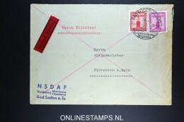 Deutschland: Eilbote Express  Dienstbrief  1941  NSDAP Bad Soden To Flörsheim A. Main - Briefe U. Dokumente
