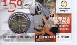 Belgio - 2 Euro Commemorativo Anno 2014 - 150° Anniversario  Croce Rossa - Belgio