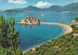 Yugoslavia Sveti Stefan Panorama 1978 - Yugoslavia