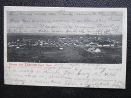 AK EICHHORN B. Gänserndorf 1902 /// D*14975 - Gänserndorf
