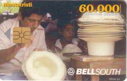 ECUADOR - Artisanat 1/Montecristi, BellSouth Telecard, Chip GEM1, Used