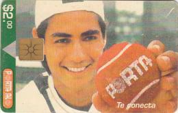 ECUADOR - Nicolas Lapentii 1($2), Chip GEM2, Used