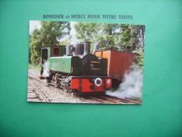 F  Cp   Locomotive  Chemin De Fer De La Baie De La Somme - Unclassified