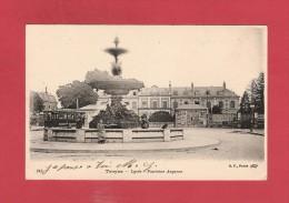 * CPA..dépt 10..TROYES :  Lycée - Fontaine Argence  :  Voir Les 2 Scans - Troyes