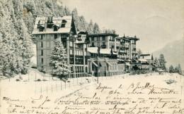 Suisse VD LEYSIN En Hiver - Sanatorium 1903 .......G - VD Vaud