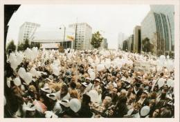 """BELGIQUE (20/10/1996) : Affaire DUTROUX - La Marche Blanche. CARTE 143 DES ARCHIVES DU """"SOIR"""" (CPM - 2005). - Manifestations"""