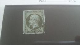 LOT 242542 TIMBRE DE FRANCE OBLITERE N�11 VALEUR 90 EUROS