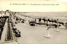 Belle Carte    -La Baule Sur Mer -  Vue Générale De La Plage Prise Du Casino      , Animée             A497 - France
