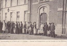 Hamme - Vervoer Van Levensmiddelen Van Het Klooster (overstrooming 1906, Animatie) - Hamme