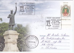 MOLDOVA ; MOLDAVIE ; MOLDAWIEN ; MOLDAU , 2011 ; The Ruler Stephen The Great ; Special Cancell. - Moldova