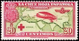 España 0342 * Cruz Roja. 1926. Charnela - 1889-1931 Reino: Alfonso XIII