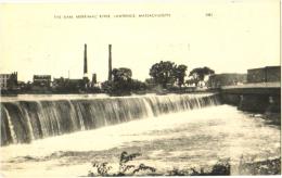 The Dam, Merrimac River, Lawrence, Massachusetts - Lawrence