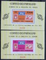 Paraguay 1966 Deutscher Beitrag Zur Weltraumfahrt Michel Block 83-84 Xx MNH - Paraguay