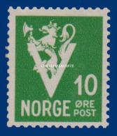 1941 NORWAY  V FOR VICTORY 30 öre FACIT 298 U.M. - Nuovi