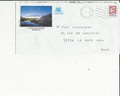 Enveloppe  Entier Postaux Illustrée  (Stade Velodrome Marseille) Exp: Mr Bruno Ferrara A Marseille 13 - Sellado Mecánica (Otros)
