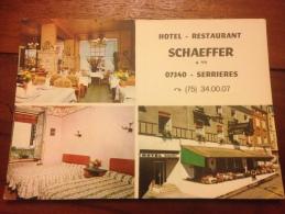 Serrieres Hotel Schaeffer Cpm - France